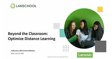 Distance Learning Webinar Image