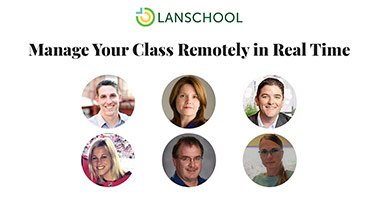Webinar - Manage Class Remotely in Real Time