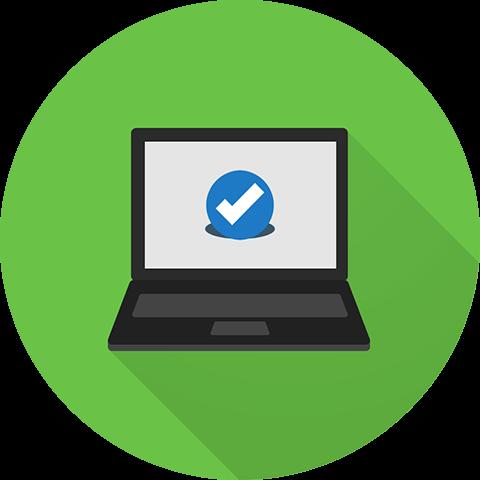 Classroom Technology - Laptop Illustration