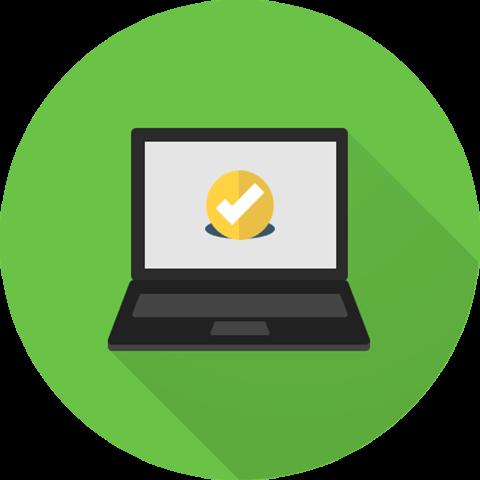 School Hosting Solutions - Laptop Illustration