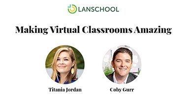 Making virtual classrooms amazing