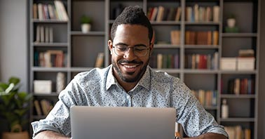 Cloud based classroom management - Teacher on laptop
