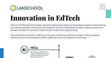 Innovation in EdTech Infographic